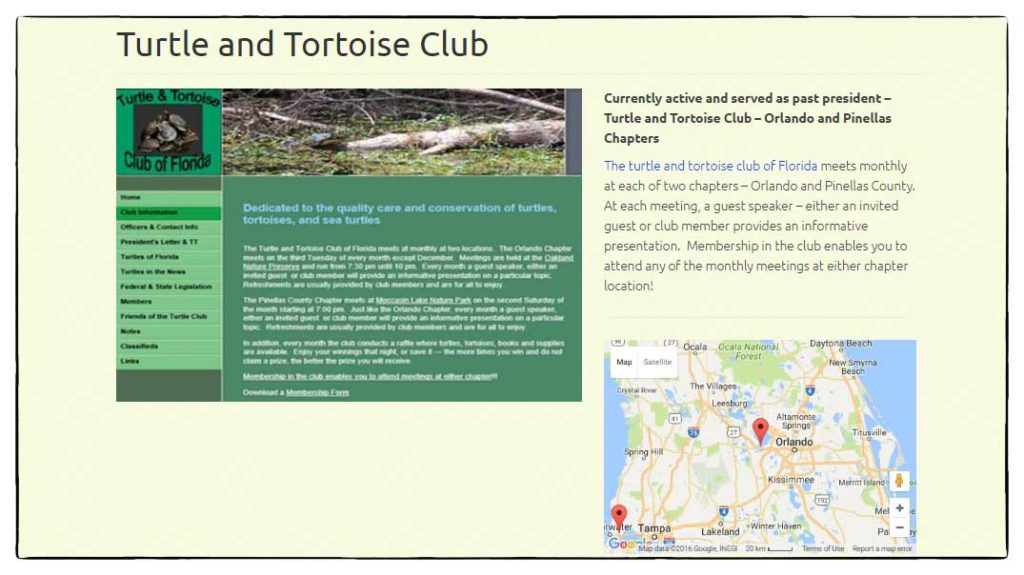 Turtle and Tortoise Club of Florida
