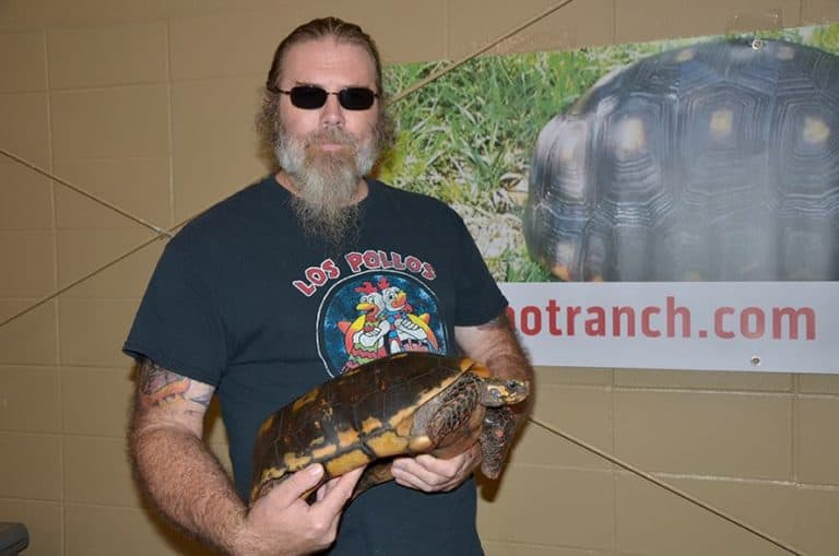 Interview at Repticon